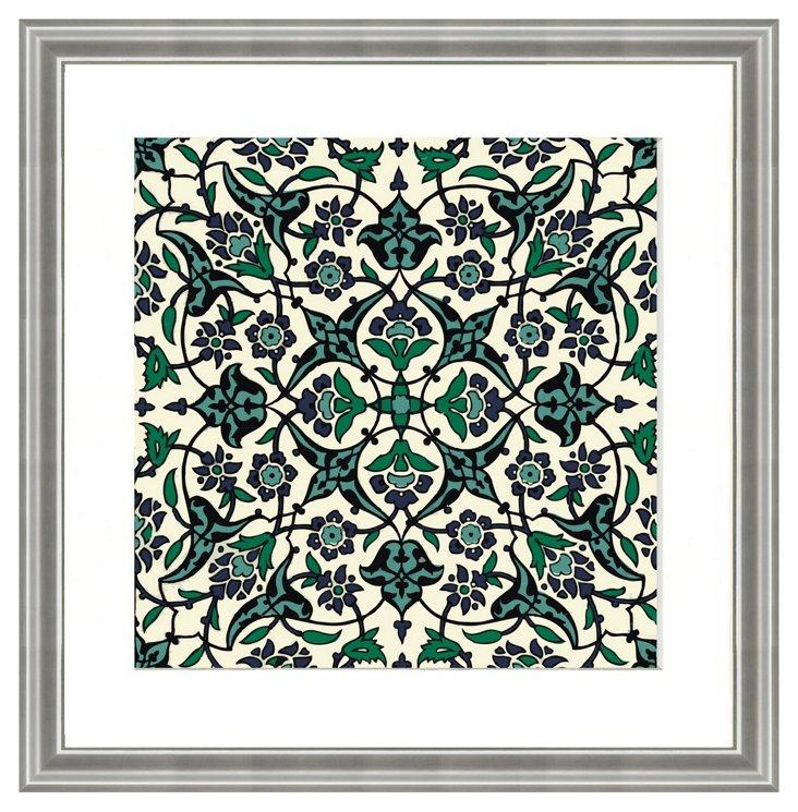 Persian Pattern Print VII