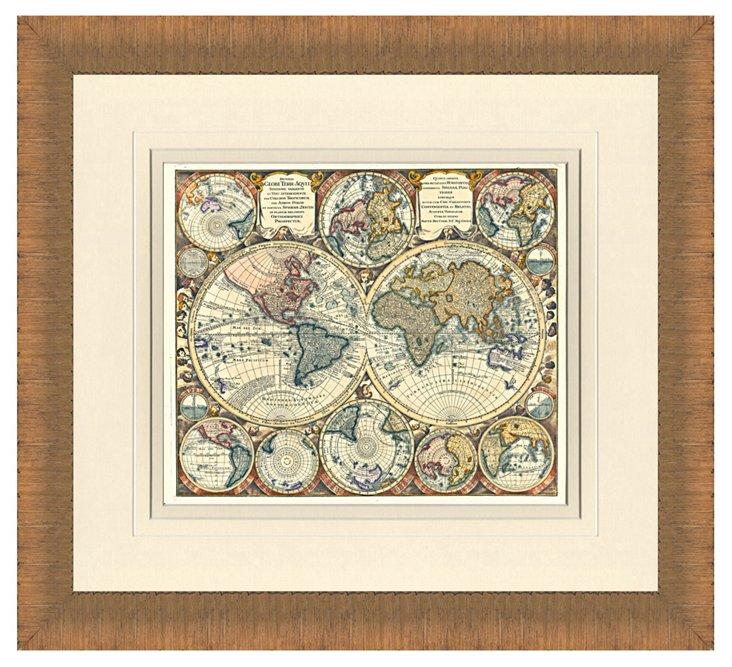 Globe Print I