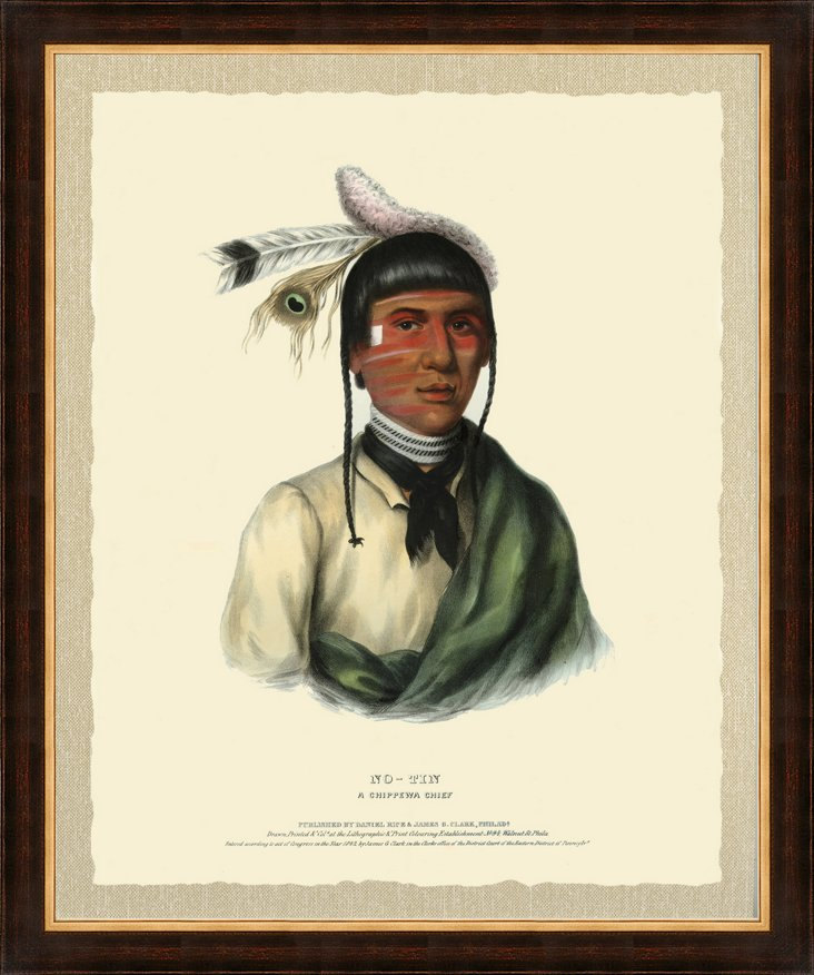 Chippewa Chief Print III