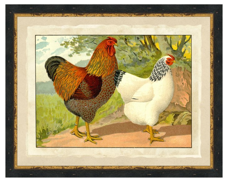 Chicken Print I