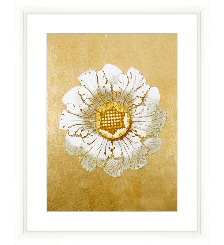 Rosette with Gold-Leaf II