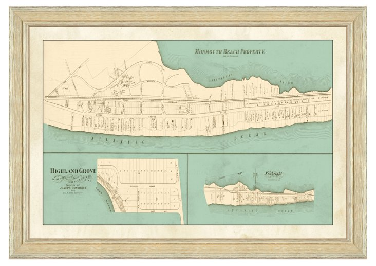 Monmouth Beach Map