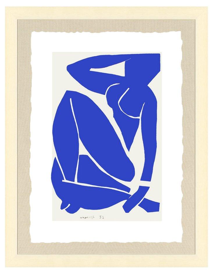 Cream Framed Matisse Print II