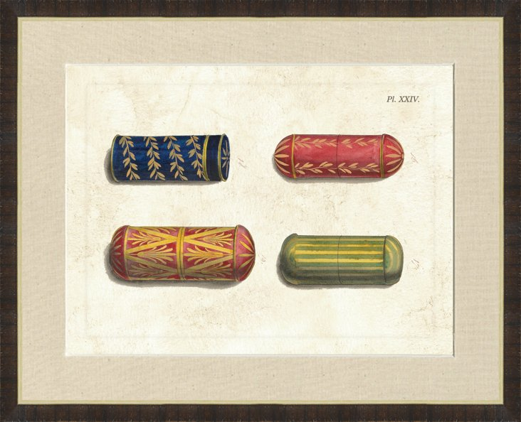 Contemporary Framed Container Print