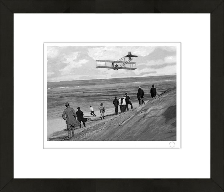 NY Times Photo, Orville Wright, Glider