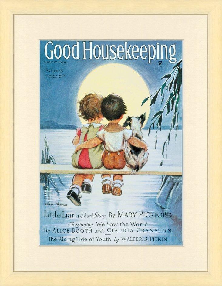 Good Housekeeping Moonlight Cover, 1934