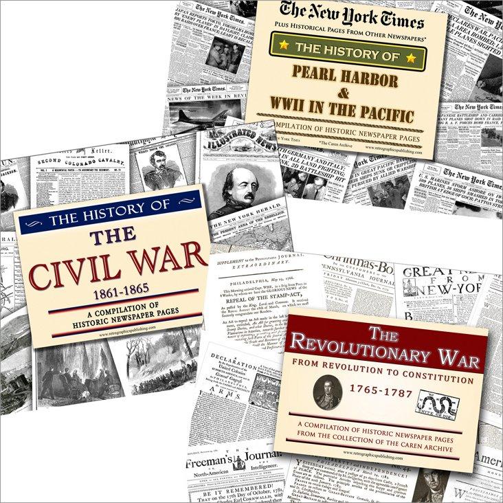 Civil War, Revolutionary & Pearl Harbor