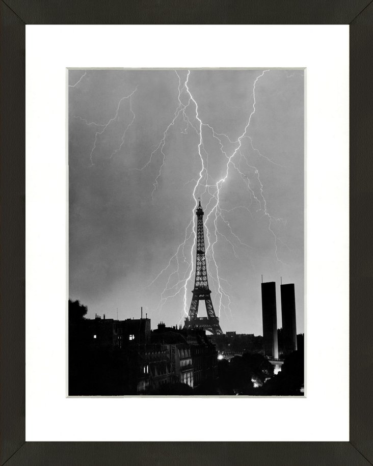 Lightning in Paris 1948