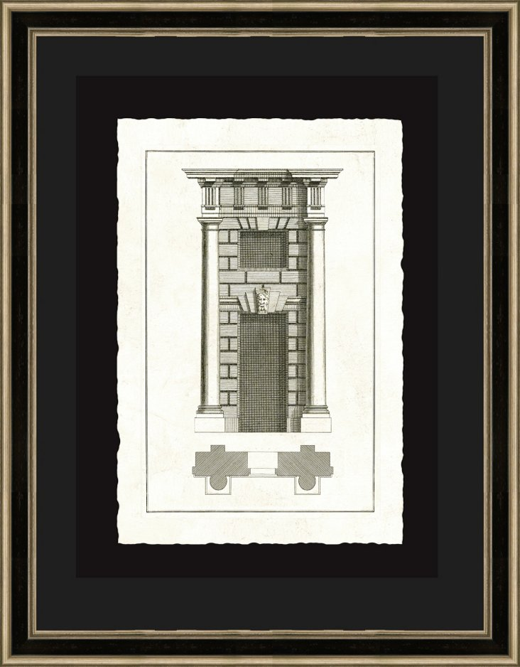 Black and Silver Framed Architecture II