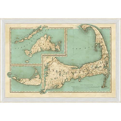 Cape Cod, Martha's Vineyard, Nantucket
