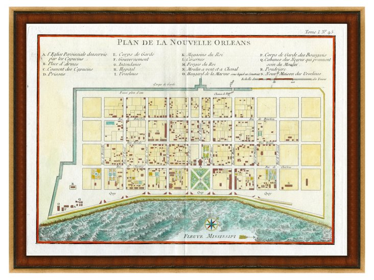 City Plan of New Orleans