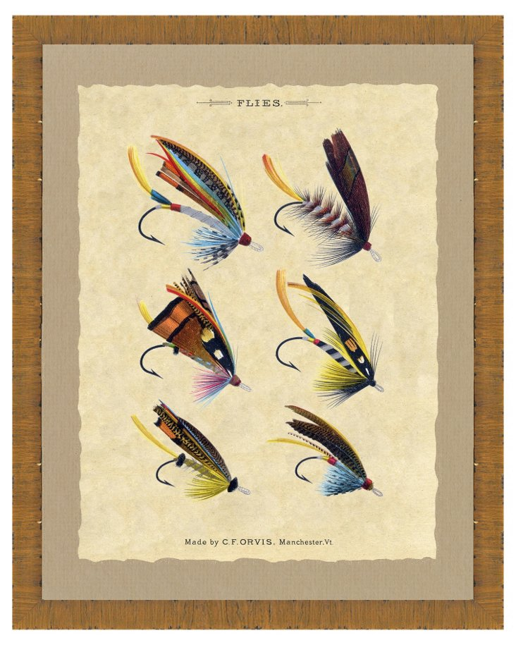 Fishing Fly Print II
