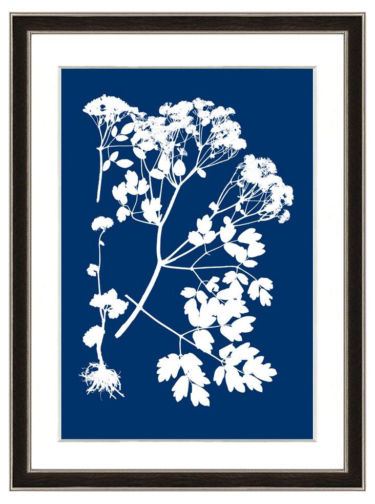 Navy Nature Print II
