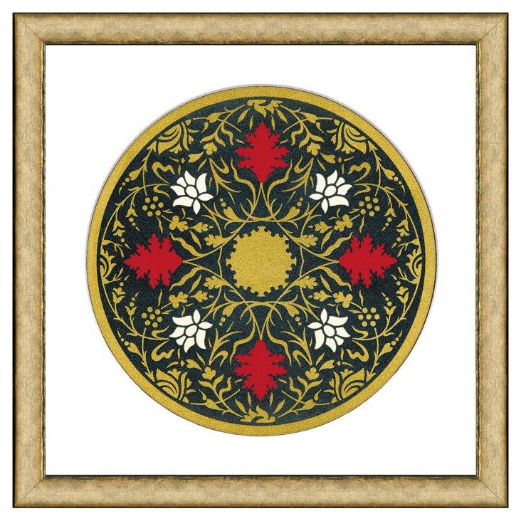 Persian Plate Pattern II