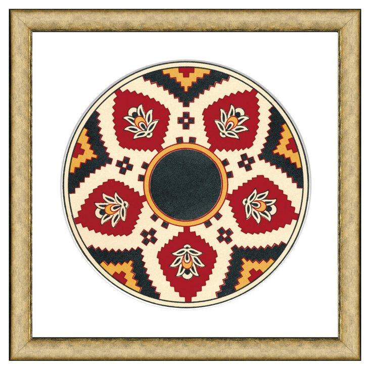 Persian Plate Pattern III