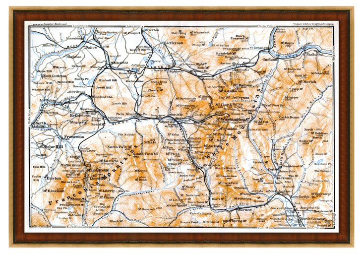 The White Mountains Map