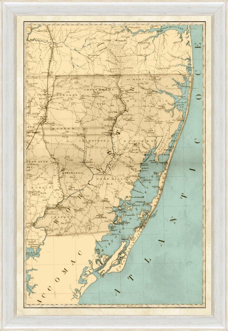 Ocean City Maryland Map