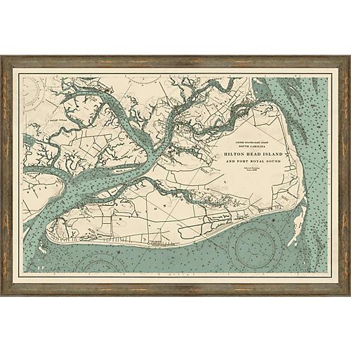 Port Royal Sound Map