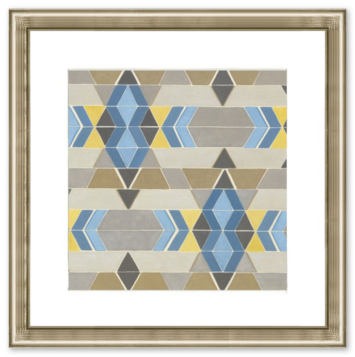 Triangle Pattern Print II