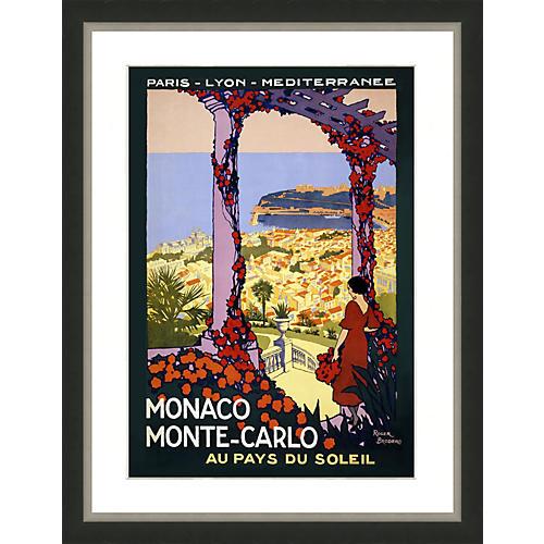 Travel Poster - Monaco Monte Carlo
