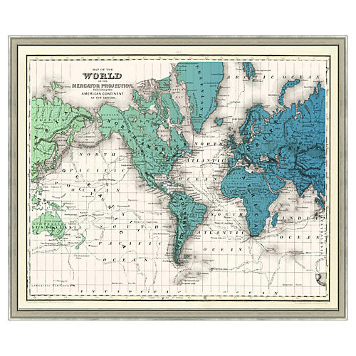 World Gradient Map