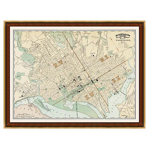 Washington DC Map