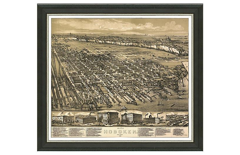 Hoboken Cityscape