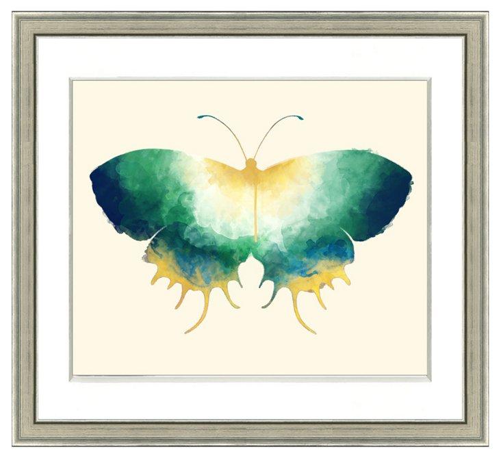 Watercolor Butterfly Print II