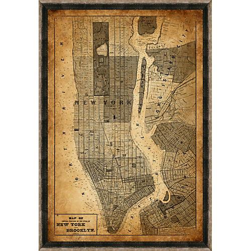 Heritage New York Map