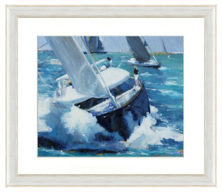 Sailing Boat Print II