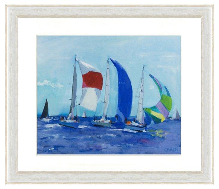 Sailing Boat Print IV