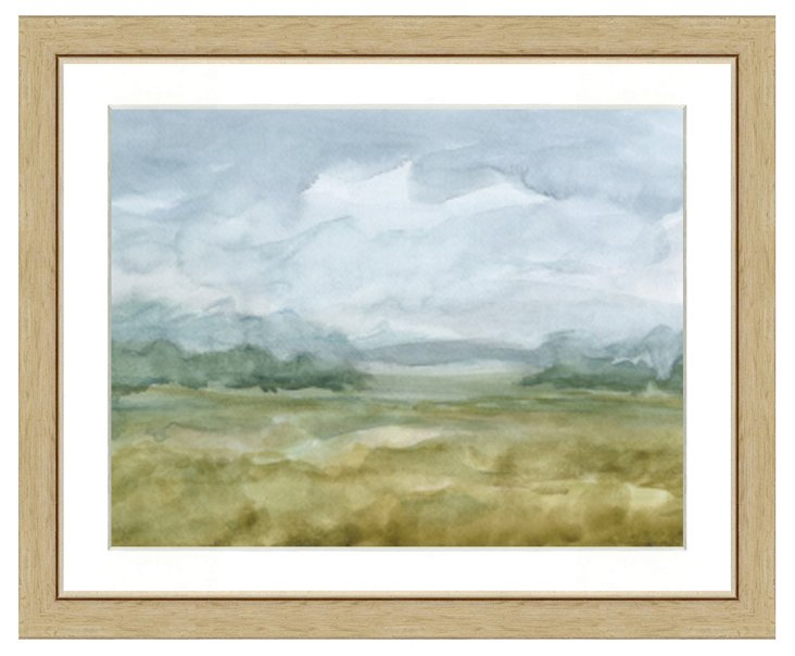 Watercolor Landscape II
