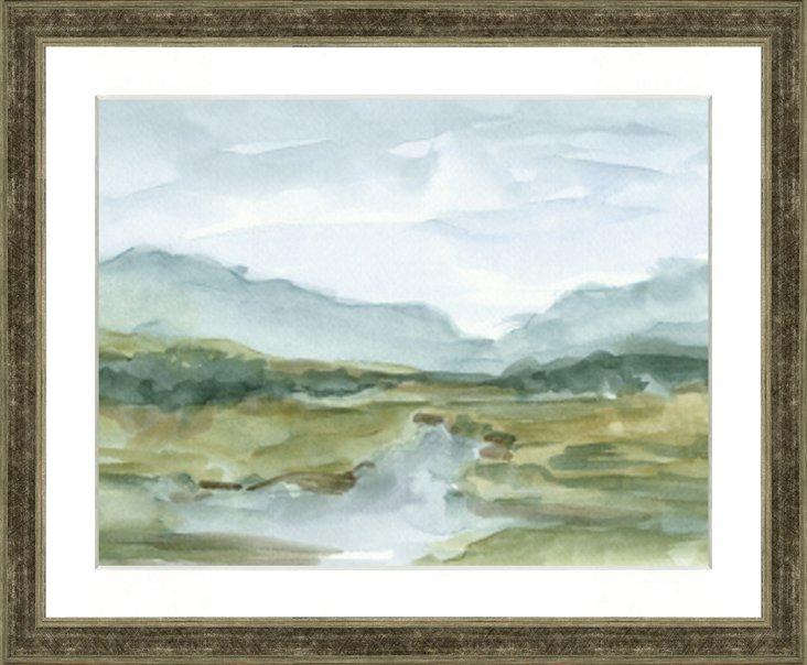 Watercolor Landscape IV
