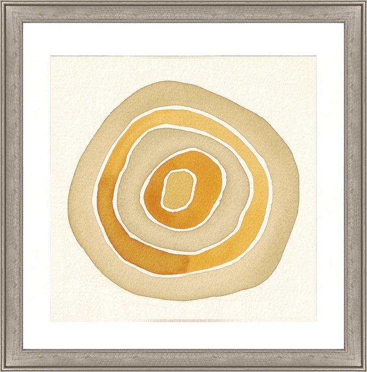 Golden Color Study Print
