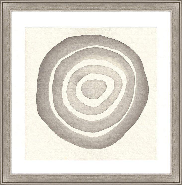 Abstract Circle Print I