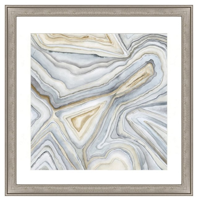 Agate Abstract Print I