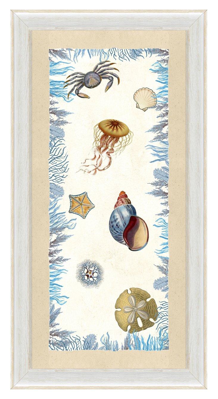 Sea Life Panel I