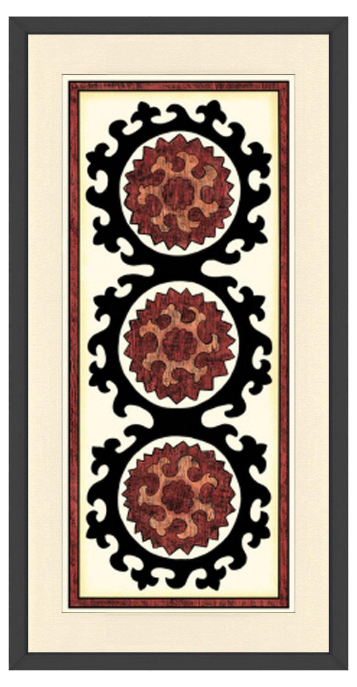 Flower Panel Print II