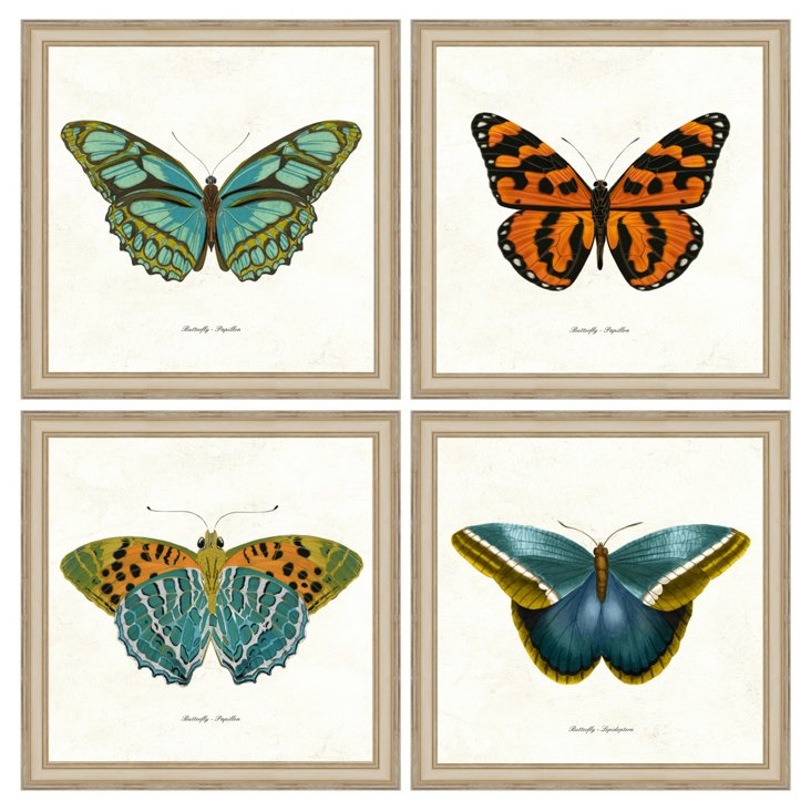 Four-Piece Butterfly Grouping