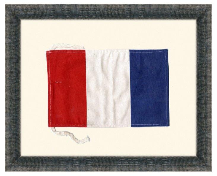 Maritime Signal Flag-Letter T