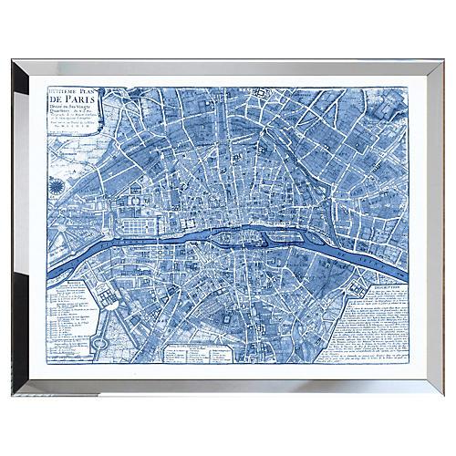 Map of Paris, Navy