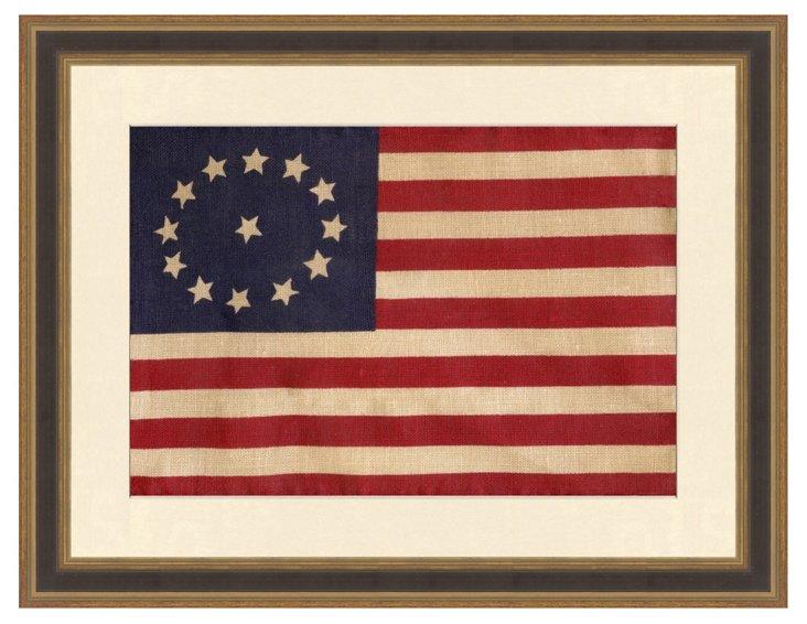 Cowpens American Flag Print
