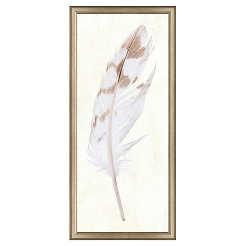 Neutral Feather Panel I