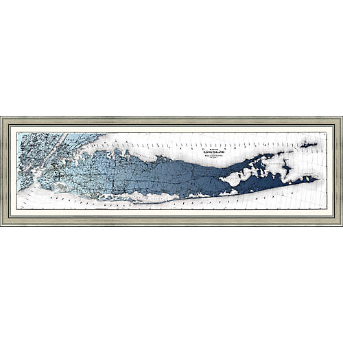 Long Island Gradient Map