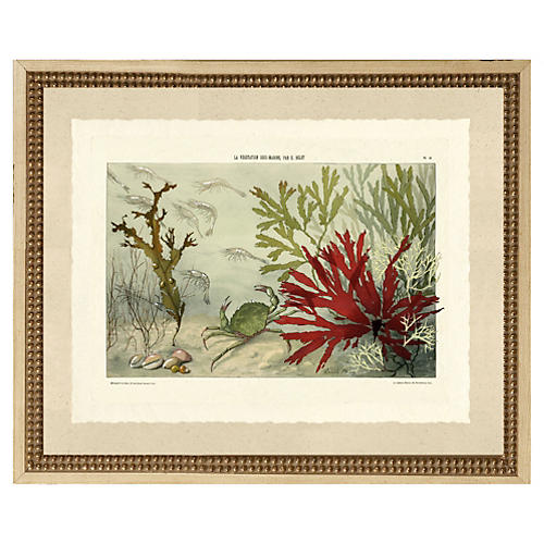 Abstract Sea Print III