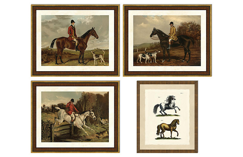 Equestrian Collection I