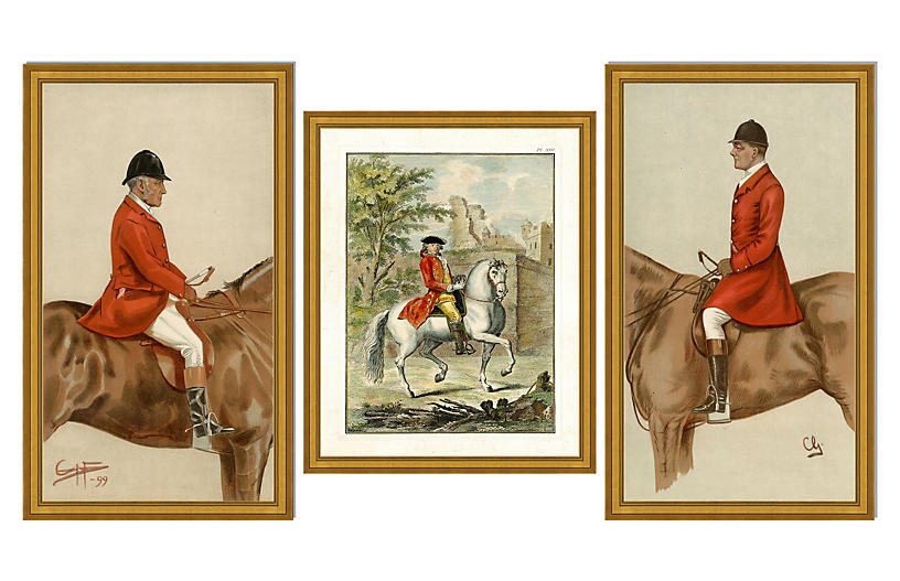 Riders on Horseback Collection