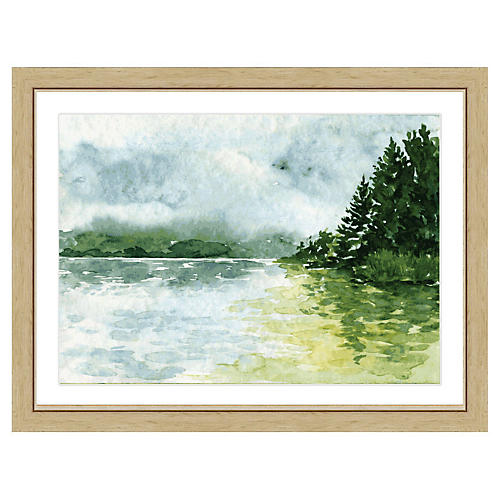 Watercolor Landscape Print II