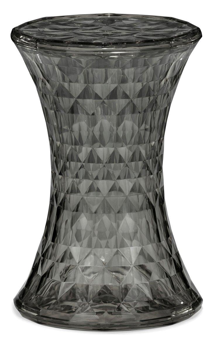 *IK Prisma Stool, Transparent Gray