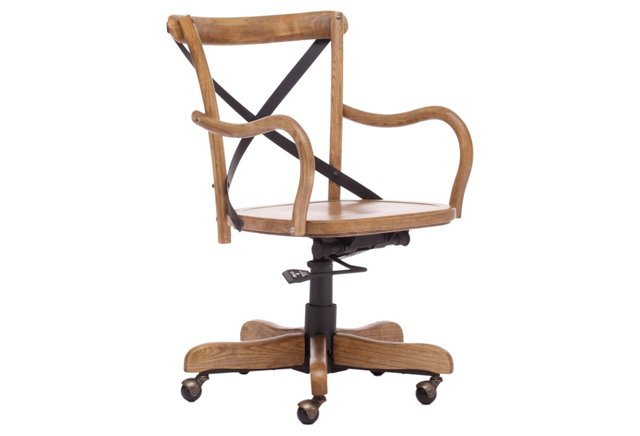 DO NOT USE-Allen Office Chair, Natural